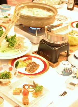 大歩危温泉「ホテルまんなか」料理
